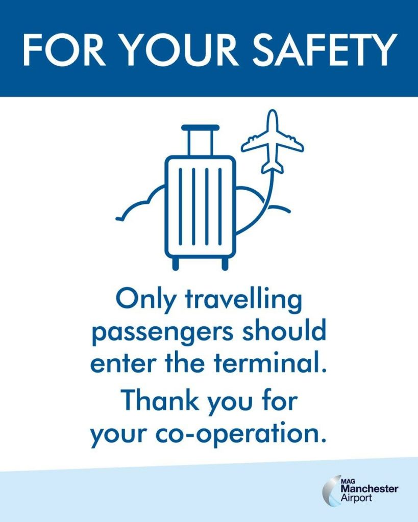 Manchester Airport Info - Passengers only